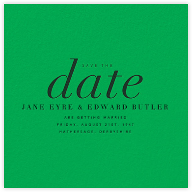 Pierre - Paperless Post - Wedding Save the Dates