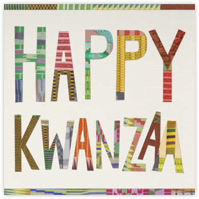 Happy Kwanzaa - Paperless Post - Kwanzaa Cards