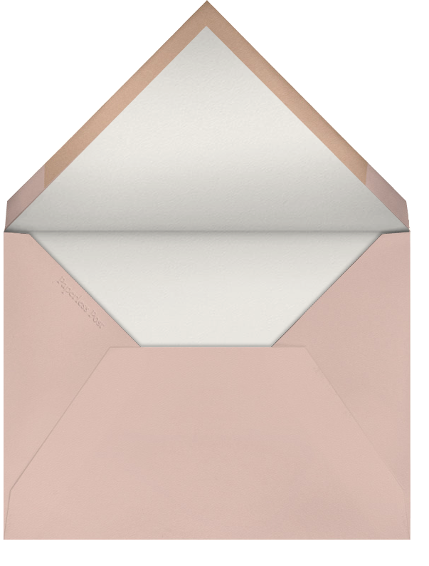 Baby Chick (Becca Stadtlander) - Red Cap Cards - Just because - envelope back