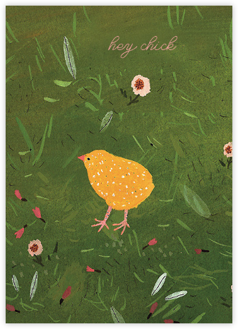 Baby Chick (Becca Stadtlander) - Red Cap Cards - Just Because Cards