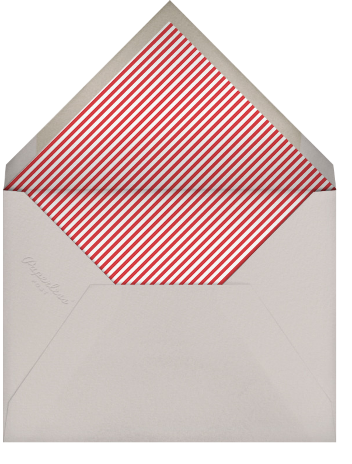 Ever After - Tall - Linda and Harriett - Engagement party - envelope back