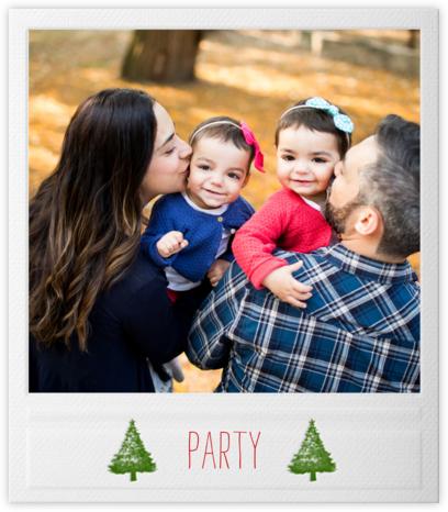 Snapshot - Trees - Paperless Post - Holiday invitations