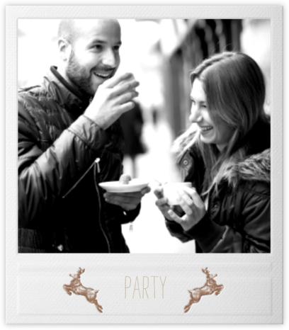 Snapshot - Reindeer - Paperless Post - Holiday invitations