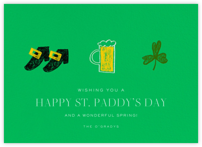 Paddy's Pint - Paperless Post -