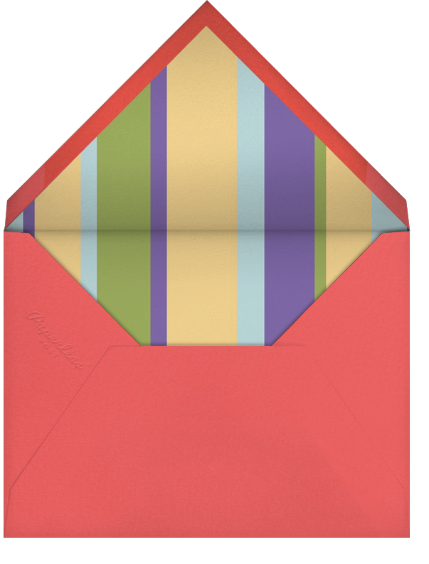 Chill Out - Crate & Barrel - Envelope