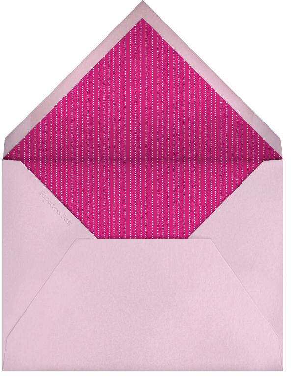 Cherry Blossoms - Paperless Post - Birthday - envelope back