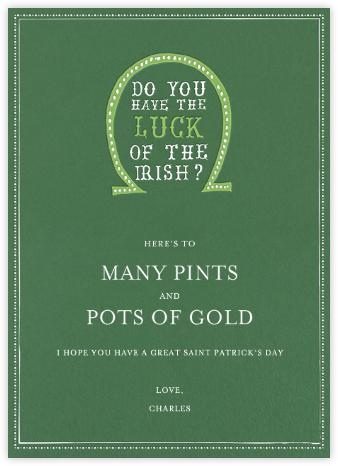 Luck of The Irish - Moss | tall