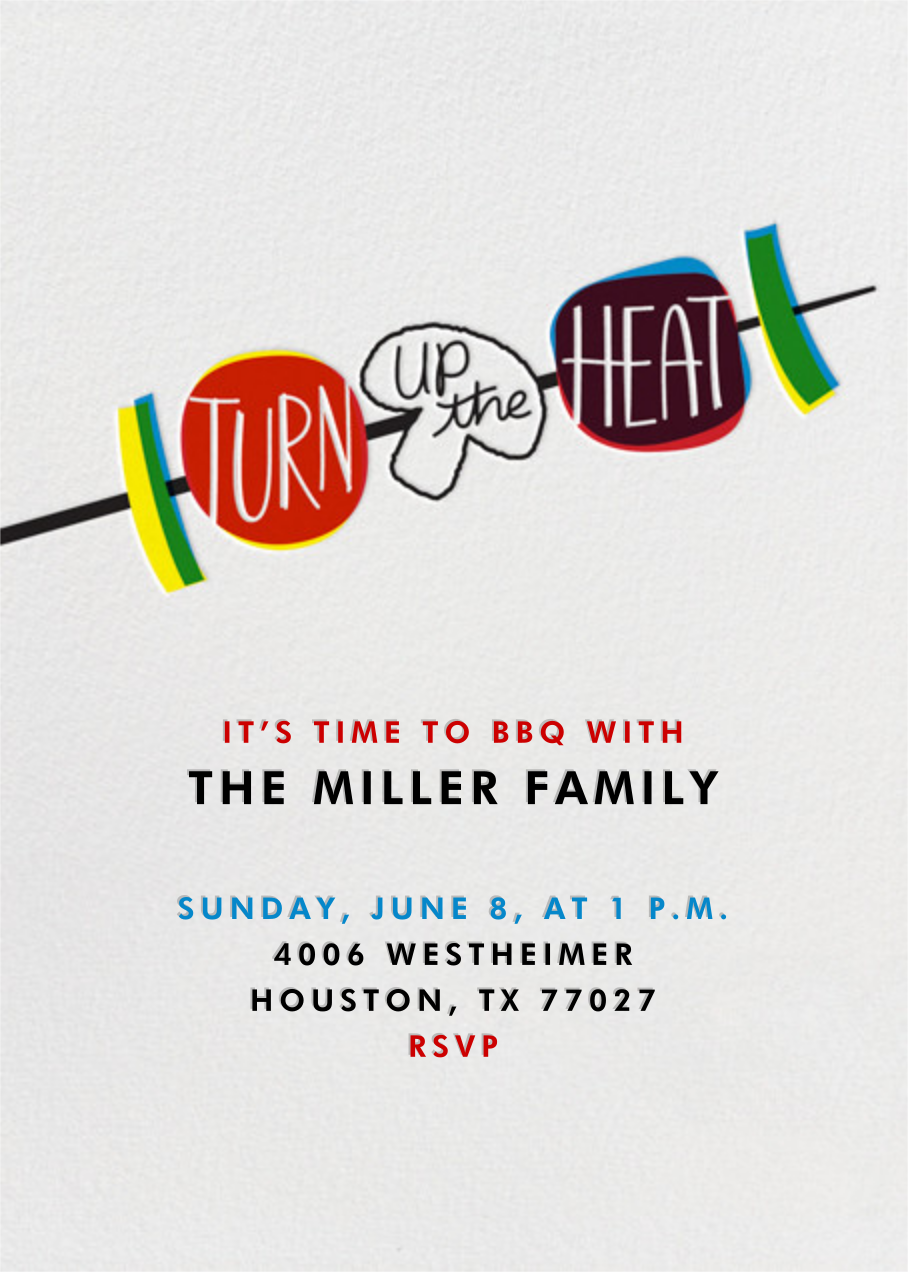 Turn Up The Heat - Crate & Barrel -