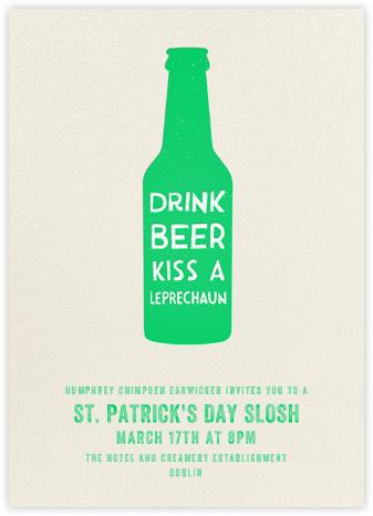 Drink Beer Kiss A Leprechaun | tall