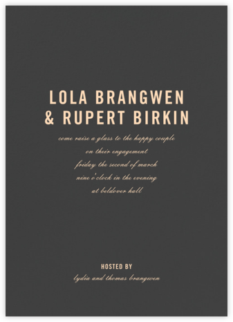 Prologue - Slate - Paperless Post - Engagement party invitations
