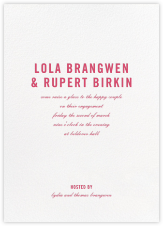 Prologue - Ivory - Paperless Post - Engagement party invitations
