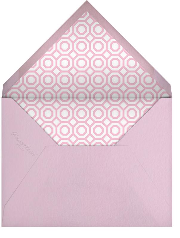 Nixon - Pink - Jonathan Adler - Baby shower - envelope back