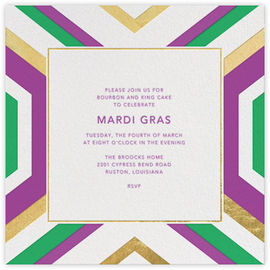 Geo - Gold and Purple - Jonathan Adler - Jonathan Adler