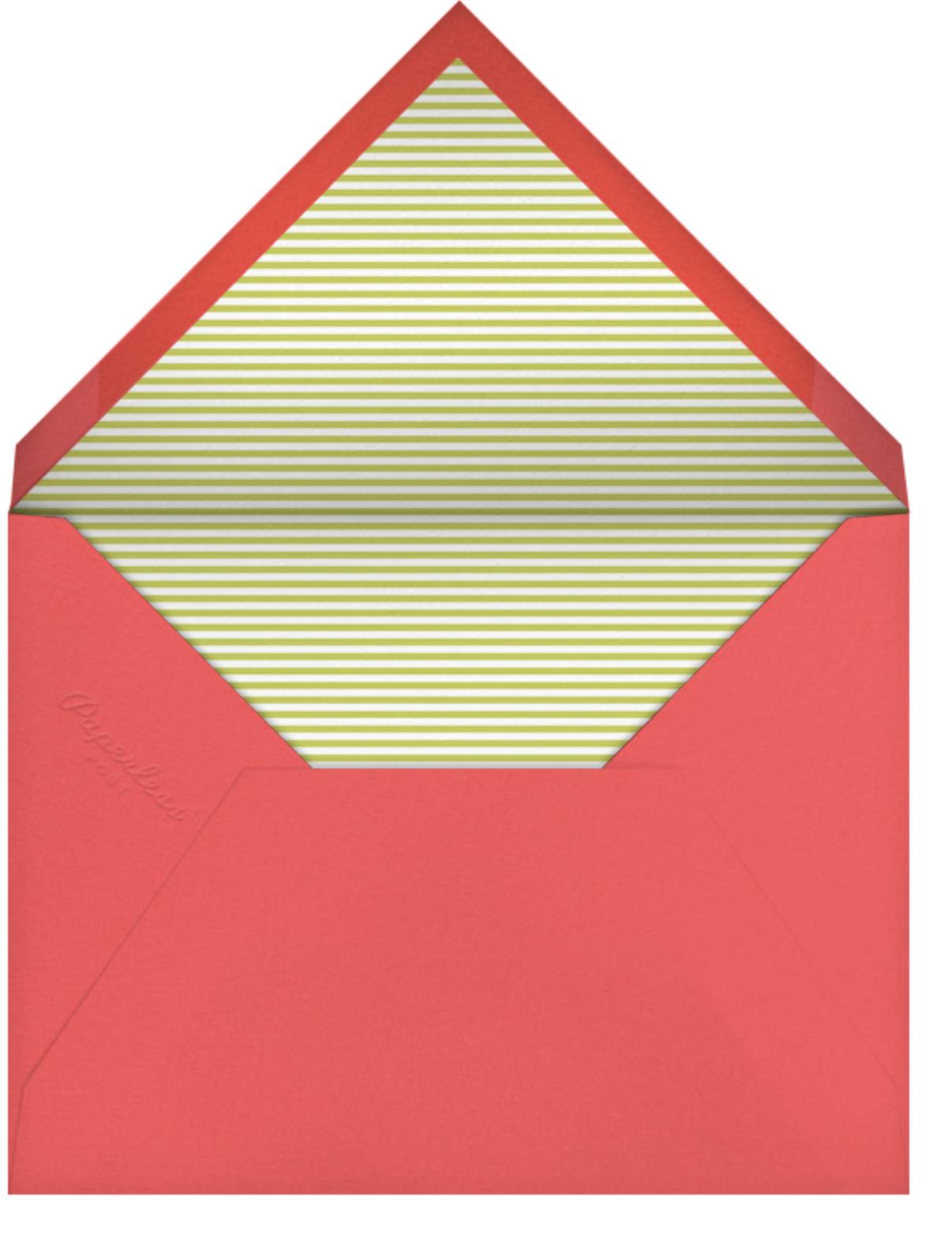 Bouquet Vase - Petit Collage - Mother's Day - envelope back