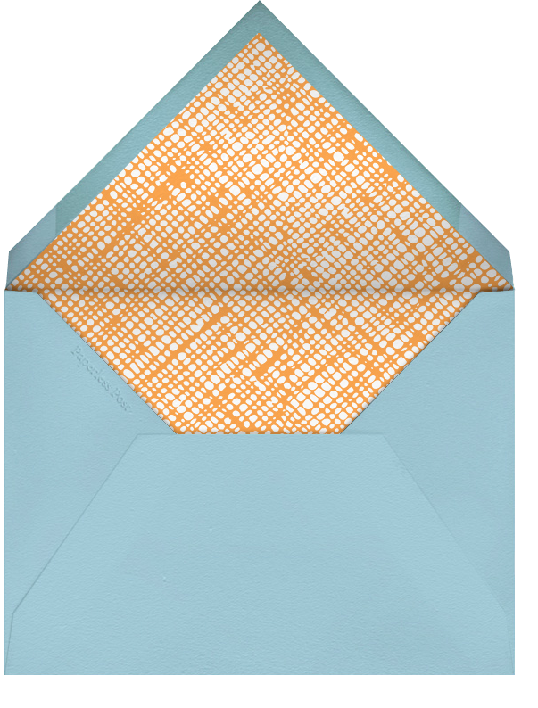 Party Lion - Petit Collage - Kids' birthday - envelope back