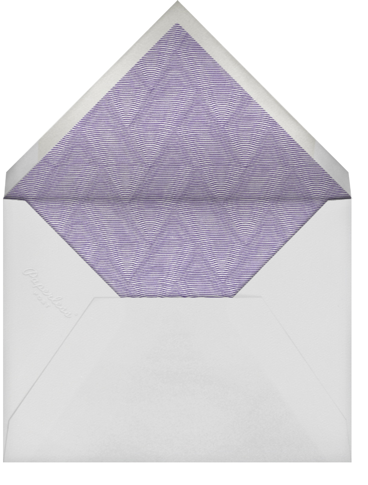 XO - Kelly Wearstler - Thinking of you - envelope back