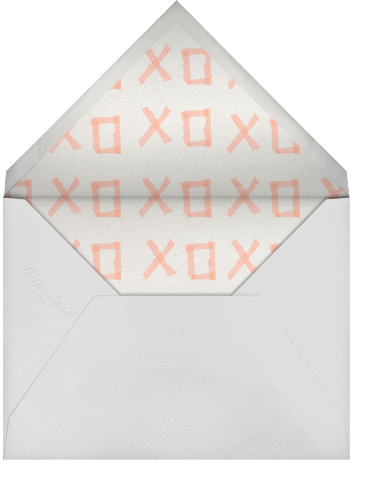 Stuck on You - Kelly Wearstler - Just because - envelope back