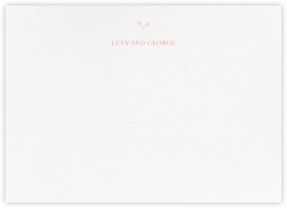 Emily (Thank You) - Ivory - Paperless Post - Stationery