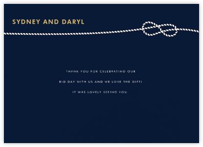 Nautical II (Stationery) - Navy | null