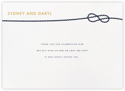 Nautical II (Stationery) - White - kate spade new york - Personalized stationery