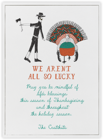 So Sorry Mr. Turkey - Mr. Boddington's Studio -