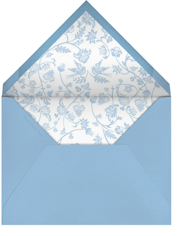 Marjorie II (Thank You) - Spring Rain - Paperless Post - Personalized stationery - envelope back