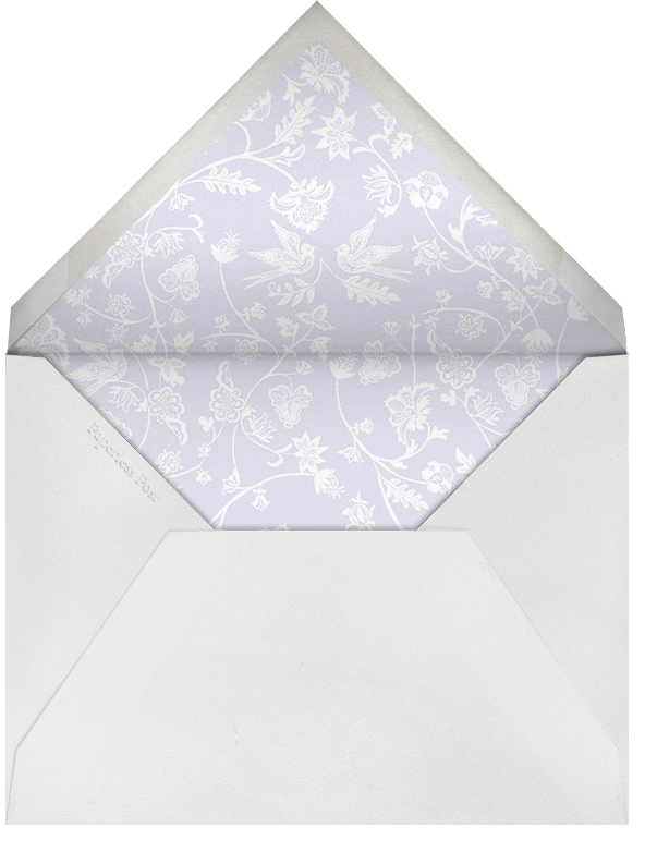 Marjorie II (Thank You) - Taro - Paperless Post - Personalized stationery - envelope back
