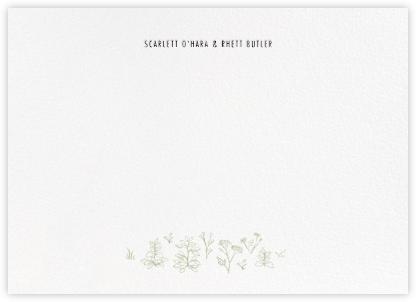 Francesca II (Thank You) - Sage - Paperless Post -