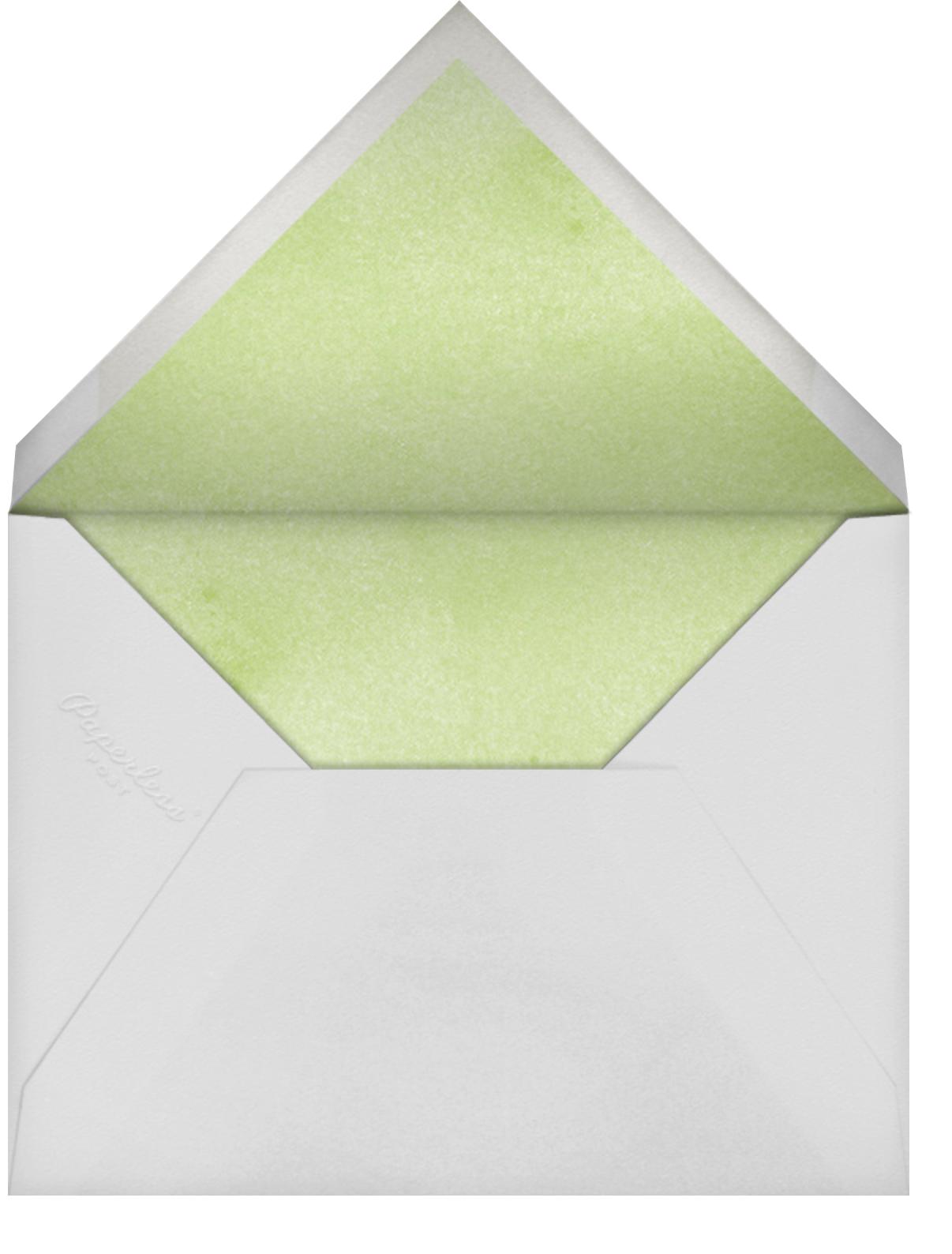 Watercolor Dye - Paperless Post - Easter - envelope back