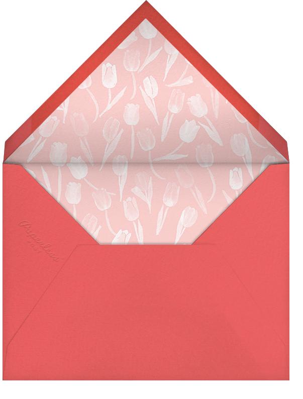 Tulip Bed - Paperless Post - Envelope