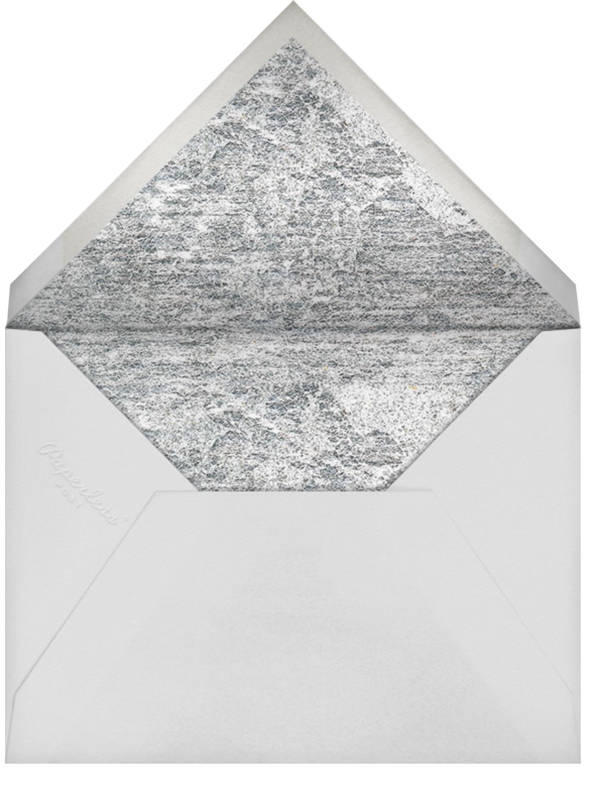 Jubilee II (Save the Date) - Black - Kelly Wearstler - Save the date - envelope back