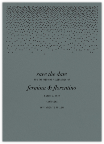 Jubilee II (Save the Date) - Gray | null