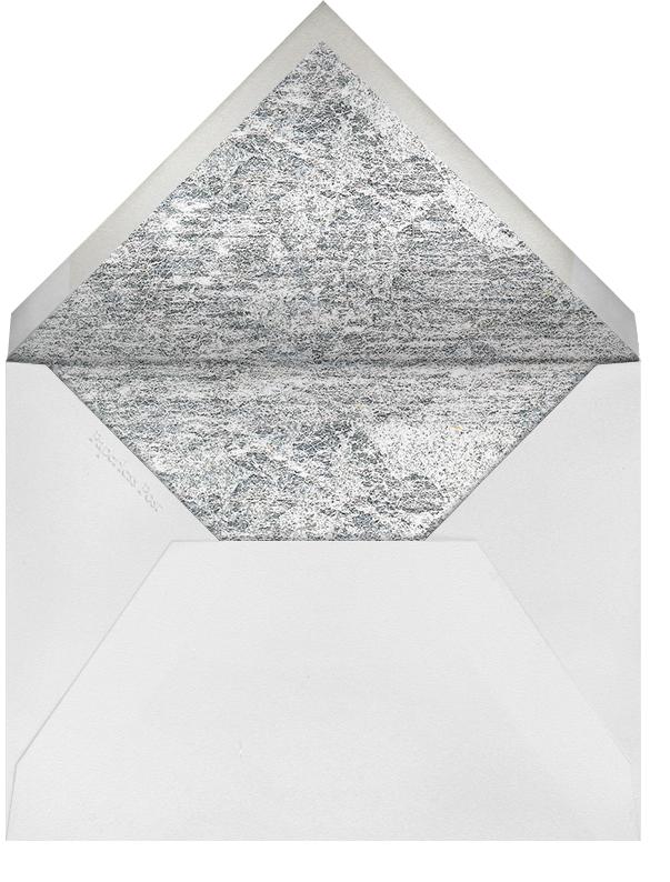 Jubilee II (Stationery) - Gray - Kelly Wearstler - Personalized stationery - envelope back