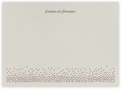 Jubilee II (Stationery) - Merlot - Kelly Wearstler -