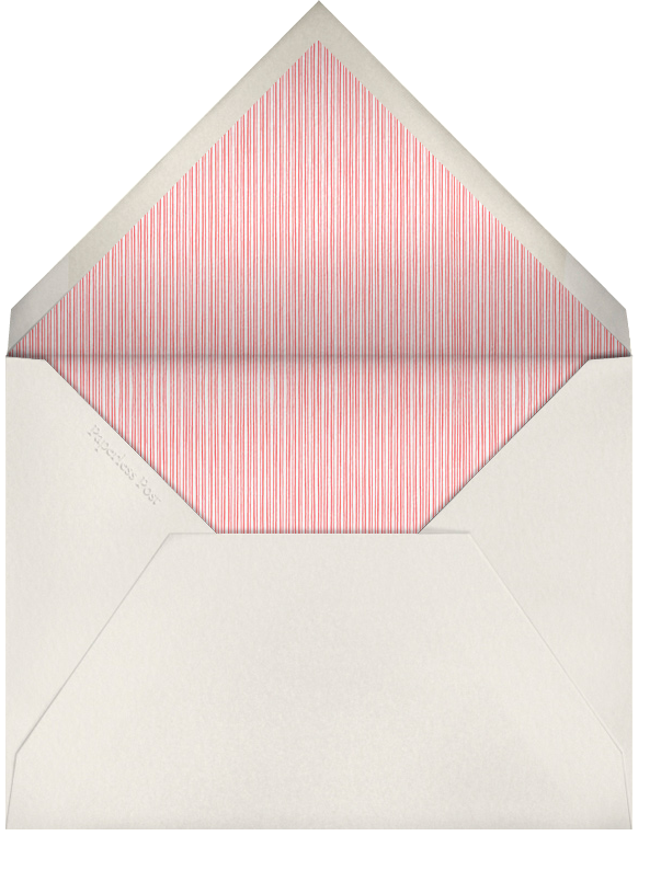 Bunny In The Basket - Paperless Post - Easter - envelope back