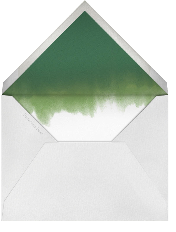 Azalea - Oscar de la Renta - Bridal shower - envelope back