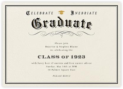 Graduation Diploma - Paperless Post -