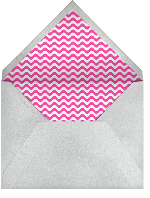 Ladies in Limos - Paperless Post - Bachelorette party - envelope back