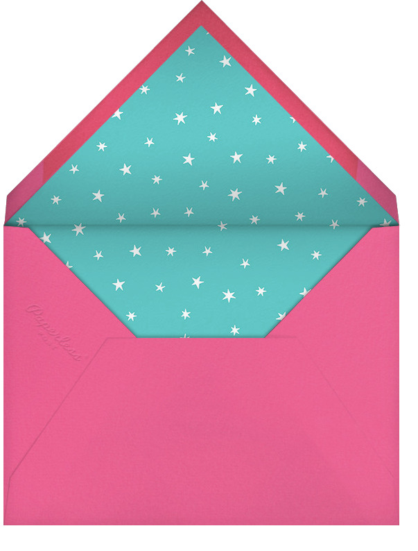 Out on the Town - Paperless Post - Bachelorette party - envelope back