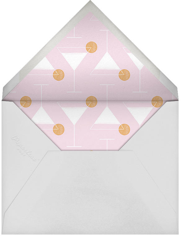 Extra Dry - Tan - Paperless Post - Bachelorette party - envelope back