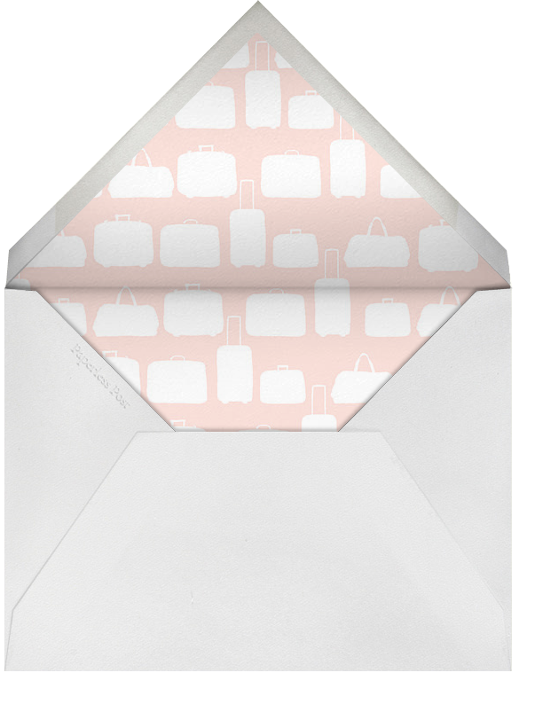 Pack Your Bags - Paperless Post - Bachelorette party - envelope back