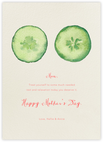 Spa Day - Paperless Post - Mother's Day Cards