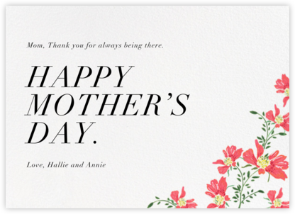 Ruellias - Paperless Post - Mother's Day Cards