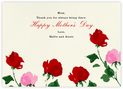 Rose (Thank You) - kate spade new york - Mother's Day Cards
