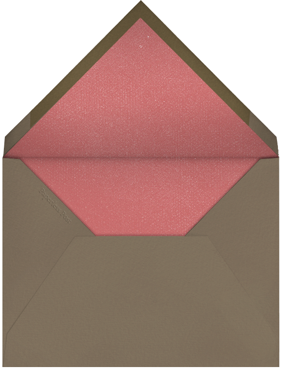 Gathered Bouquet - Paperless Post - Envelope
