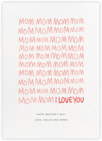 MomMomMom - Paperless Post - Mother's Day Cards