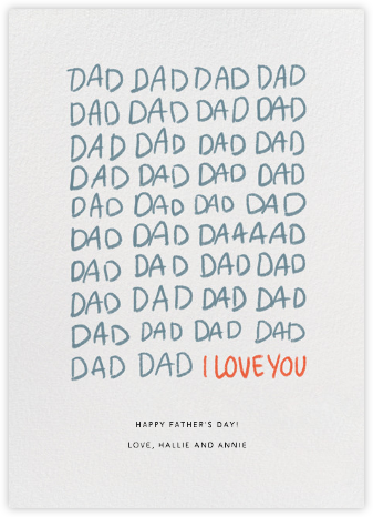 DadDadDad - Paperless Post - Father's Day Cards