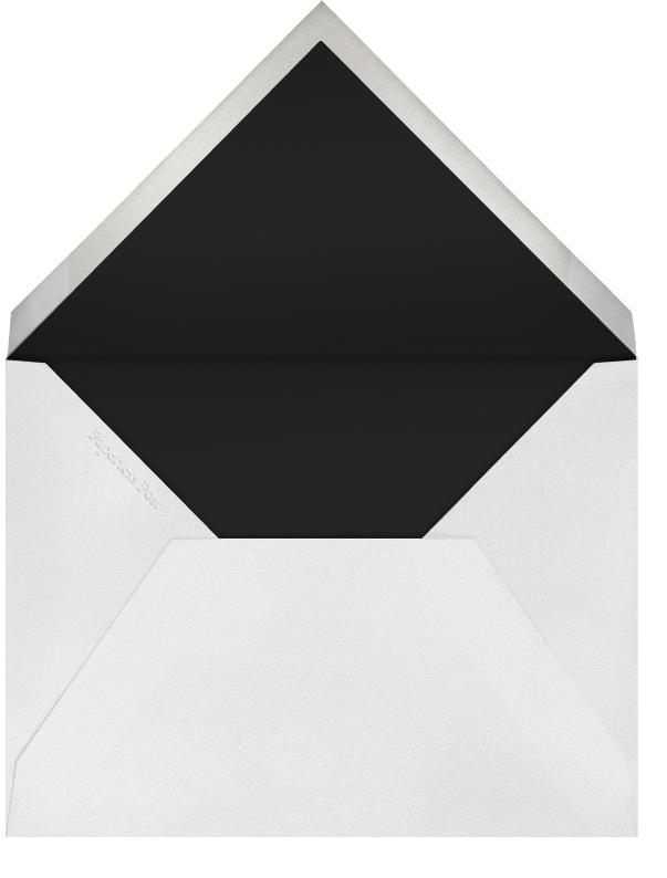 Botanical Dot - White - Oscar de la Renta - Bridal shower - envelope back