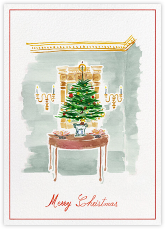 Christmas Foyer - Paperless Post - Affordable Christmas Cards