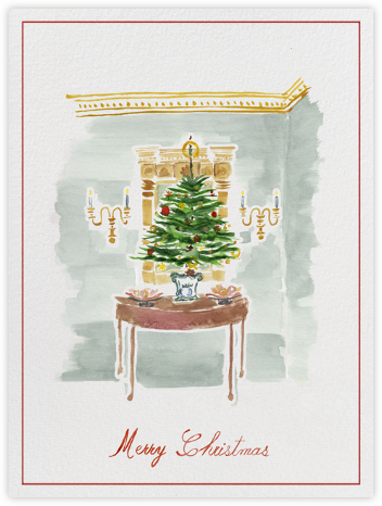 Christmas Foyer - Paperless Post -